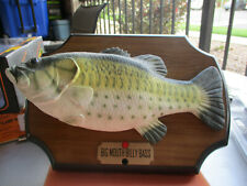Big Mouth Billy Bass Singing Fish Original 1999 Gemmy Wall/standup Works Great