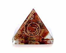 REIKI ENERGY CHARGED RUBY CRYSTAL ORGONE PYRAMID POWERFUL ENERGY GENERATOR