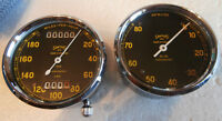 S527 Smiths Chronometric 180 mph Speedometer RC115 Tachometer