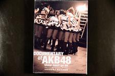 JPOP Documentary Documentary of AKB48 Show Must Go On DVD