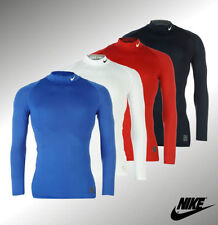 Nike Long Sleeve Running Activewear for Men with Compression