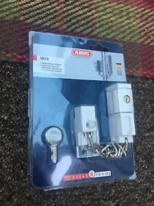 ABUS 39690 Lockable Door Chain Type SK79 White