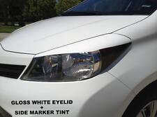 2012+ Yaris Hatchback precut White headlight eyelids + Side Marker Tint combo