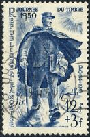 FRANCE - 1950 - Yv.863/Mi.881 12fr+3fr le Facteur - Journée du Timbre Obl. TB