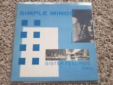 Simple Minds - Sister feelings call Vinyl LP GERMANY