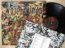 Wolfhounds Bright And Guilty + Inner A1 B2 UK LP Midnight Music 1989 NM/NM