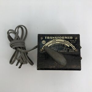 Vintage Louis Marx & Co. 1249 45 Watts Train Toy Transformer