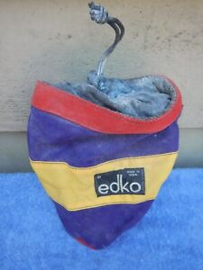 4 Edko Prana Metolius Arc'Teryx Rock Climbing Harness Chalk Bag Bags vintage