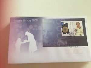 Australia First day cover 2008 Queen's birthday Windsor 2756