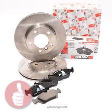 FERODO Bremsscheiben 280mm + Bremsbeläge VORNE OPEL ASTRA H Felge Lochzahl: 4