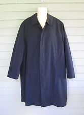 Wilke Rodriguez Mens Classic Black Trench Coat - 42 Reg.