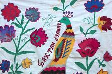 UZBEK COLOURFUL HANDMADE EMBROIDERY – SMALL SUZANI