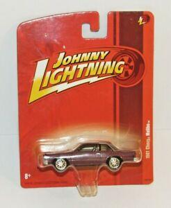 JOHNNY LIGHTNING 1981 CHEVY MALIBU  Maroon Rare Diecast 1:64 Car