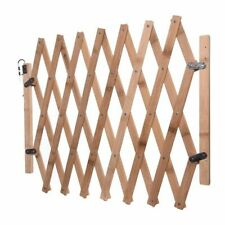 Pet Dog Cat Wooden Barrier Stretchable Fence Door Safety Isolation Expanded Gate