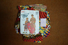 VINTAGE 1990s RETRO Clothes Childrens Native Indian Shorts and Top Pattern