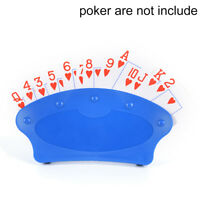 Playing cards Holder poker base game organizes hand for easy play poker stand ^D
