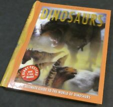 THE ULTIMATE GUIDE TO THE WORLD OF DINOSAURS 2 GIANT POSTERS AND T. REX MODEL