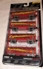 Power Trains Dragon Bullet Jakks Pacific Passenger Car Set MOC!