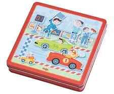 HABA Magnetspiel-Box Flotte Flitzer 301948  in der Metalldose ab 3 Jahre - neu