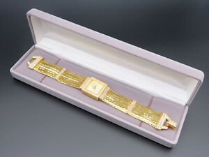 """NOLAN MILLER """"Star Luster Watch"""" Gold-tone Multi Chain """"The Glamour Collection"""""""