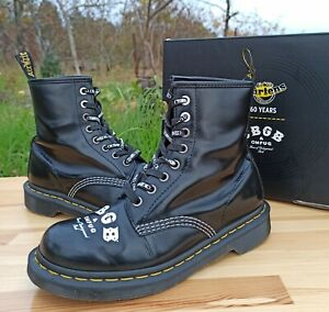 Dr Martens 1460 CBGB OMFUG Boots Women 5 UK 7 US Smooth Leather 8 eye 60 years