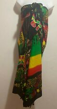 Bob Marley Print Wrap Beach Sarong Mixed Color One Size