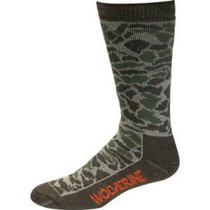 Wolverine Men's & Women's Thermal Merino Wool Moisture Wicking Socks 2 pair