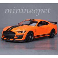 MAISTO 31388 2020 FORD SHELBY GT 500 MUSTANG 1/18 DIECAST MODEL CAR ORANGE