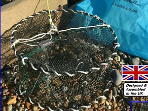 KOIKE LOBSTER/CRAB/FISH POT DESIGNED, TESTED & ASSEMBLED BY BRITISH SEA ANGLERS