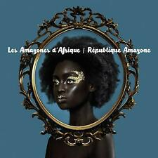 LES AMAZONES D'AFRIQUE Republique Amazone (2017) 12-track CD album NEW/SEALED