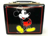 Vtg Disney Mickey Mouse Taffy Tin Lunchbox Style Park Hudson Scott & Sons