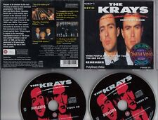 THE KRAYS Bonded By Blood 1990 POLYGRAM DOUBLE VIDEO-CD -DVD