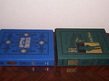 easton press DLE ADVENTURES OF TOM SAWYER & HUCKLEBERRY FINN Mark Twain 2 vols
