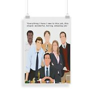 The Office (US), Quote, Print, Poster, wall art, gift, home decor