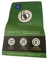 Beantown Bedding Biodegradable Bedding Laundry-Free Linens Queen Set