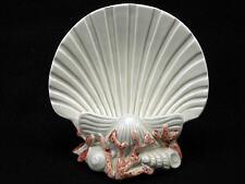 Vintage 1977 Fitz And Floyd Oceana Beach Sea Seashell Coral Napkin Holder Japan