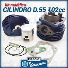 GRUPPO TERMICO CILINDRO PISTONE D.55 102cc RMS PER VESPA SPECIAL L R N 50