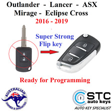 Mitsubishi Outlander Lancer ASX Mirage Eclipse Cross Remote Flip Key 2016 - 2019