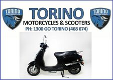 BRAND NEW MY18 TORINO FAMOSA 125cc LAMS SCOOTER BLACK – $2,690 RIDE-AWAY