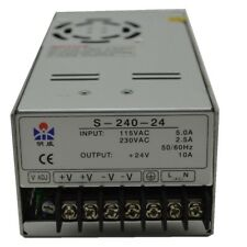 240W Single Output DC5V/DC12V/DC15V/DC24V/DC48V Switching Power Supply S-240