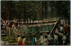 "West Orange, New Jersey Postcard TURTLE BACK ZOO "" Mayflower"" c1960s Unused"