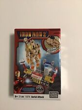 Mega Bloks IRON MAN 2 1974 Aerial Attack Ground Assault 51 Pcs. MIB