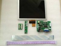 "HDMI VGA 2AV 50PIN LVDS Controller Board kit + 8"" LCD Display for Raspberry PI"