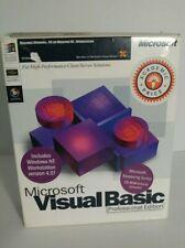 Microsoft Visual Basic 5.0 Professional Edition Retail w/ Developer / Mastering