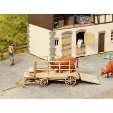 NOCH 14245 1/87 HO DECORS KIT BETAILLERE (SANS FIGURINES) REMORQUE PORTE ANIMAUX