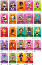 Carte Animal Crossing New Horizon Amiibo Serie 3 Switch Switch Lite 3DS Wii NFC