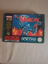 Turrican 2 Snes Super Nintendo Game Uncommon
