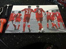 "Liverpool FC #LFC Legends Canvas Print A1 (33.1""x23.4"") £32"