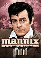MANNIX THE COMPLETE SIXTH SEASON 6 MIKE CONNORS NEW SEALED 6-DISC NEW  DVD