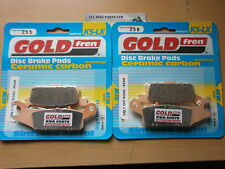 SINTERED (OFF-ROAD) REAR BRAKE PADS (2x Sets) For: YAMAHA YFM 700 GRIZZLY YFM700